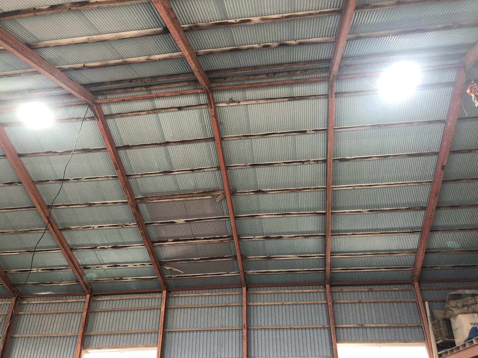 車庫の電気